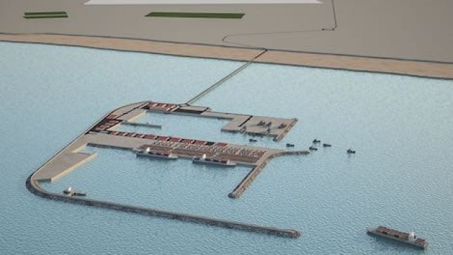 خمسة منافسين لبناء ميناء الداخلة الأطلسي الجديد