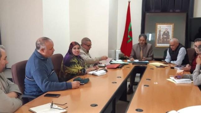 أكاديمية العيون تعقد لقاء عمل بحضور المدير الإقليمي..