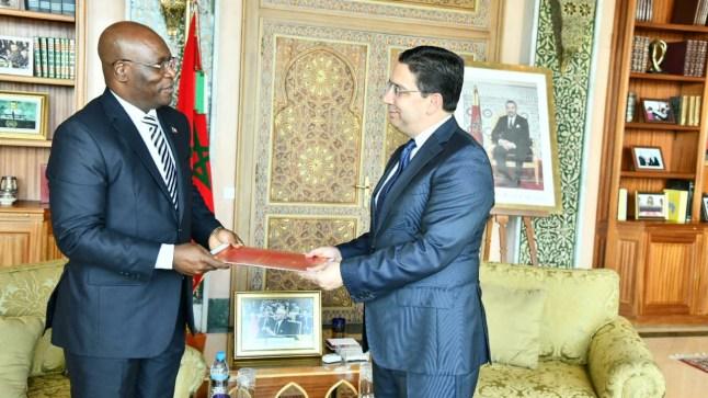 وزير خارجية غينيا الإستوائية يحمل رسالة من رئيس بلاده للملك محمد السادس