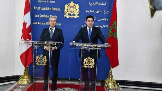 """وزير الشؤون الخارجية الكندية: المغرب بذل جهودا """"جادة وذات مصداقية"""" للمضي قدما بشأن قضية الصحراء"""