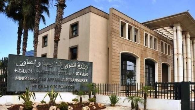 بلاغ وزارة الشؤون الخارجية خصوص مؤتمر برلين حول ليبيا..