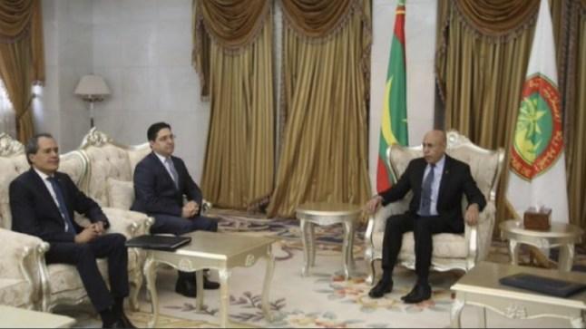 بوريطة للرئيس الغزواني: الملك يرغب في علاقات إستثنائية مع موريتانيا