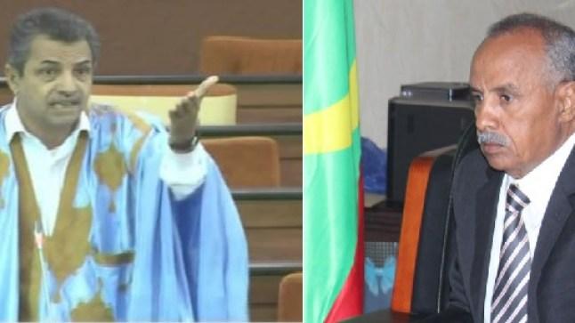 رئيس البرلمان الموريتاني يتهجم على برلماني و يتهمه بالموالاة للمغرب !