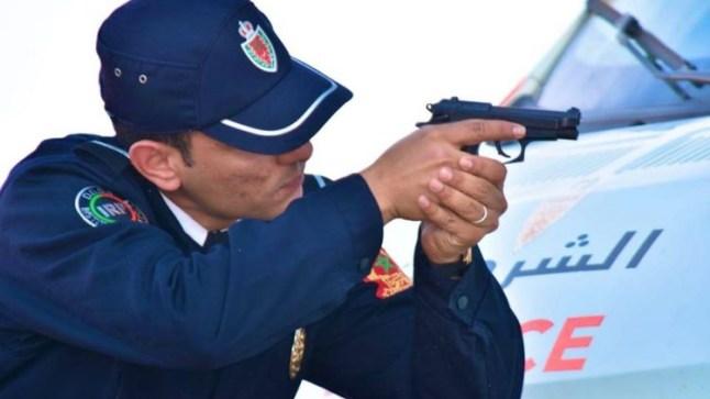 """إطلاق الرصاص على داعشي حاول قتل شرطي في """"أبي الجعد""""!"""