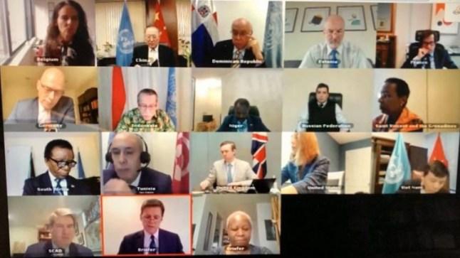 مجلس الأمن يعقد جلسةً حول المينورسو عبر الفيديو
