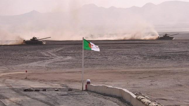 الجزائر تعلن إنشاء قاعدة عسكرية على الحدود مع المغرب !