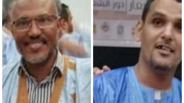 الأحمدي ومبارك يارا يطلقان من بوجدور مشروع الف قصيدة حسانية