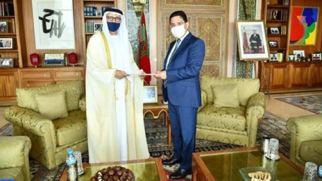 بوريطة يستقبل السفير الجديد للإمارات بالرباط