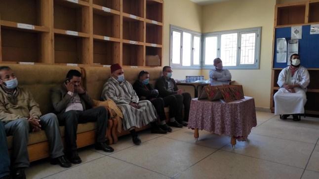 إعدادية ابن طفيل ببوجدور تحتفي باليوم العالمي للمدرس