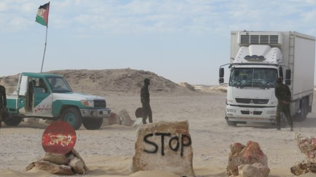 موريتانيا تقيم حواجز مراقبة في الكركارات بتنسيق مع البوليساريو !
