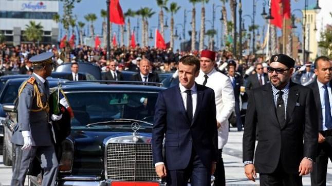 في حوار مع جون أفريك .. ماكرون يصف الملك محمد السادس بالزعيم الثقة !