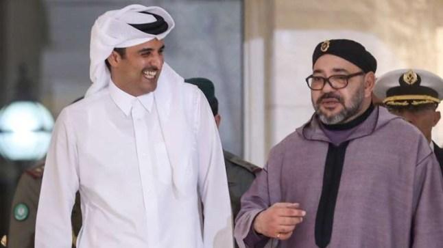 الأمير تميم يهاتف الملك محمد السادس ويُعلن إستعداد قطر دعم المغرب للدفاع عن وحدته الترابية