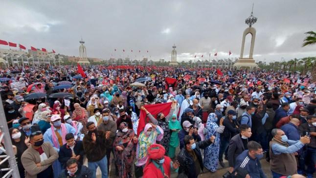 """""""ولد الرشيد"""" يحشد أزيد من 30 ألفا من أنصاره احتفاء بالقرار الأمريكي"""