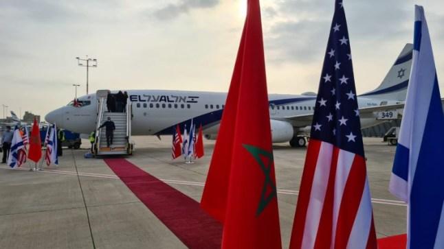 الوفد الأمريكي الإسرائيلي يغادر الرباط بعد زيارة للمملكة