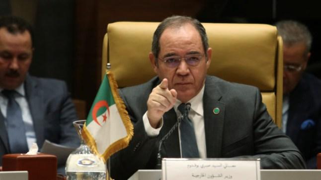 وزير الخارجية الجزائري: الوضع في الصحراء مصدر قلق كبير بالنسبة لنا