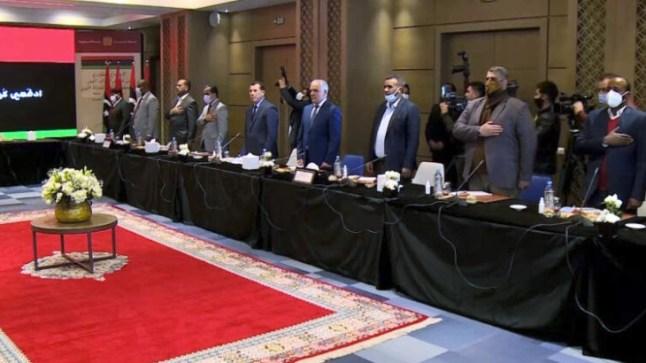 مباحثات الفرقاء الليبيين في بوزنيقة تفضي إلى اتفاق حول توزيع المناصب السيادية