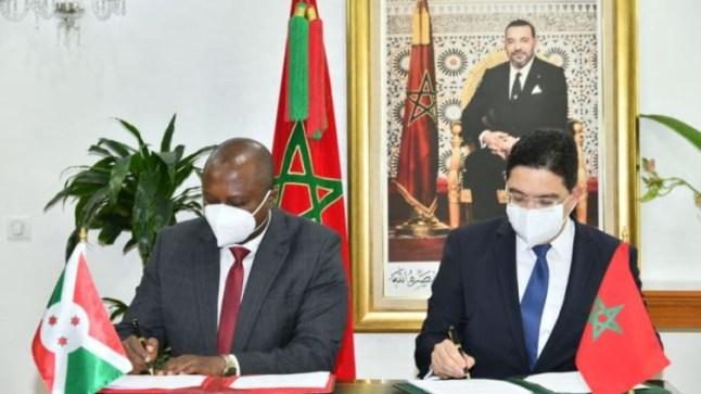 المغرب يعرض تقاسم خبرته التقنية والأمنية مع بوروندي وتقديم منح دراسية لطلابها
