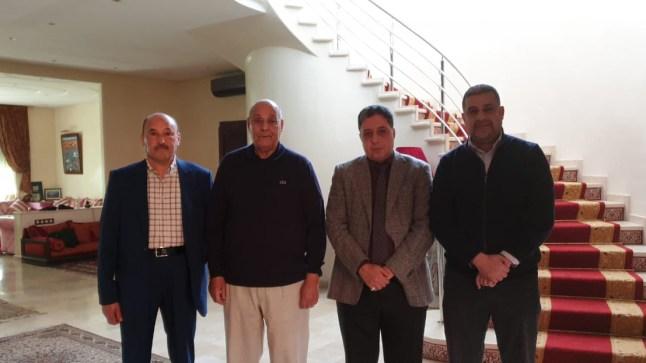 عاجل : بفضل جهود قادها ولد الرشيد … عبد الرحيم بوعيدة ومحمد سالم لمجيدري يلتحقان رسميا بحزب الاستقلال