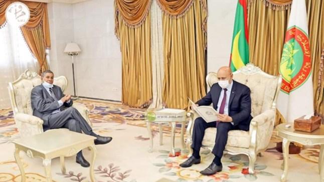 نواكشوط..الرئيس الموريتاني يستقبل وفداً عن البوليساريو