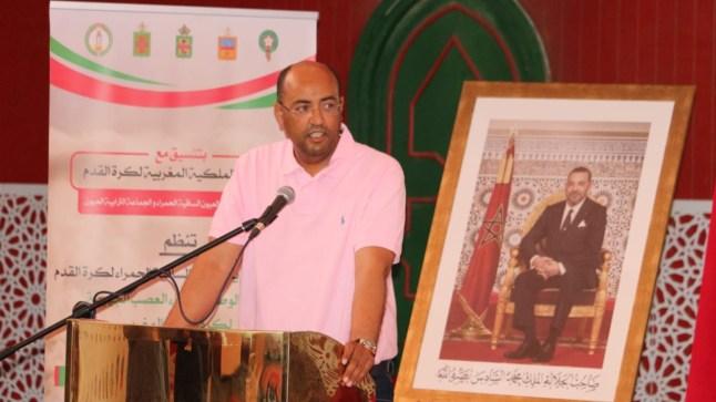 ولد الرشيد يترأس أشغال اللقاء الوطني لرؤساء العصب الوطنية لكرة القدم