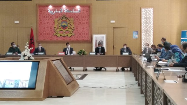 اللجنة الإقليمية للمبادرة الوطنية للتنمية البشرية ببوجدور تصادق على المخطط الإقليمي لسنة 2021