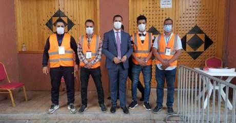 الجمعية المغربية لحماية المستهلك بالعيون تساهم في تنظيم وتأطير وحدتين متنقلتين للتلقيح