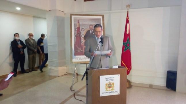 عبد السلام بيكرات والي جهة العيون يستعرض النتائج النهائية لإنتخابات الغرف المهنية بجهة العيون الساقية الحمراء