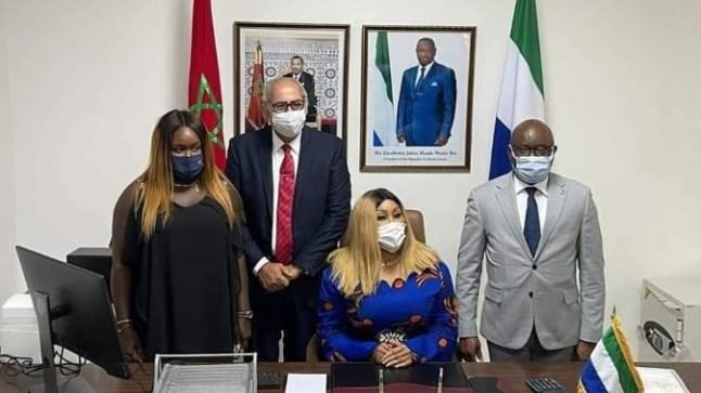 سيراليون تفتتح قنصلية لها في الداخلة