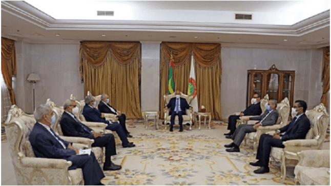 لعمامرة يحل بالعاصمة الموريتانية..