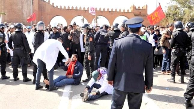 الأساتذة المتعاقدون يخرجون في وقفات احتجاجية الخميس أمام محاكم المملكة