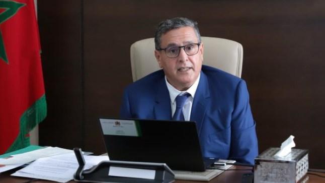 أخنوش: الحكومة تسعى إلى تمكين المغاربة من ظروف العيش الكريم