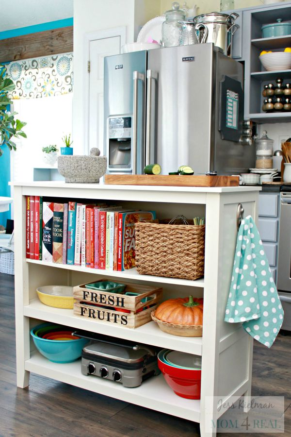 4 tips for adding storage to a small kitchen - the chuba company