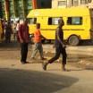 Abeokuta Expressway bus stop. A stone's throw from where I grew up. Lagos, Nigeria (May 2016)