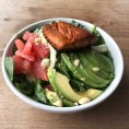 """Second only to the """"chubanator"""" salad in my view. This was delicious... got it at Cafe plant organic in Burlingame"""