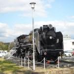 D51型蒸気機関車(小郡総合支所)
