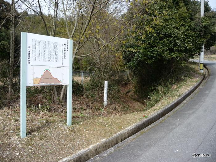 椎の木峠トンネル