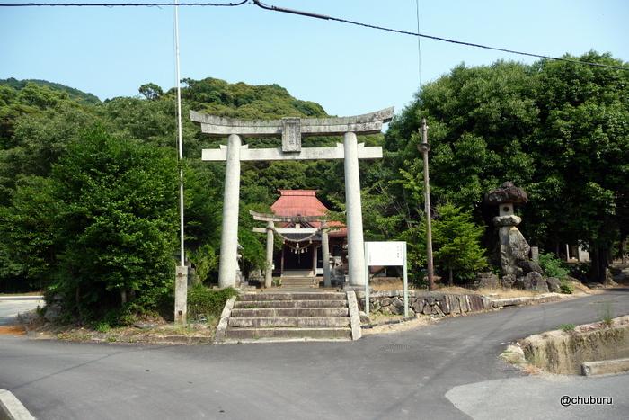 熊野神社(山口市小郡岩屋)