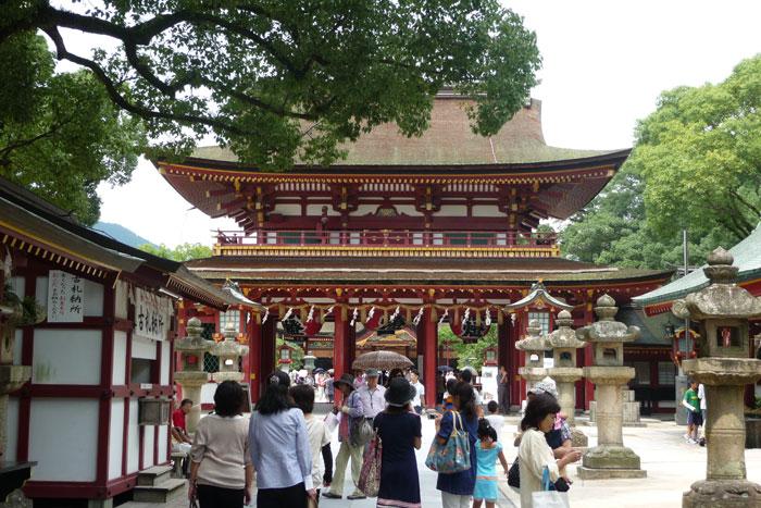 太宰府天満宮に参拝してきました。