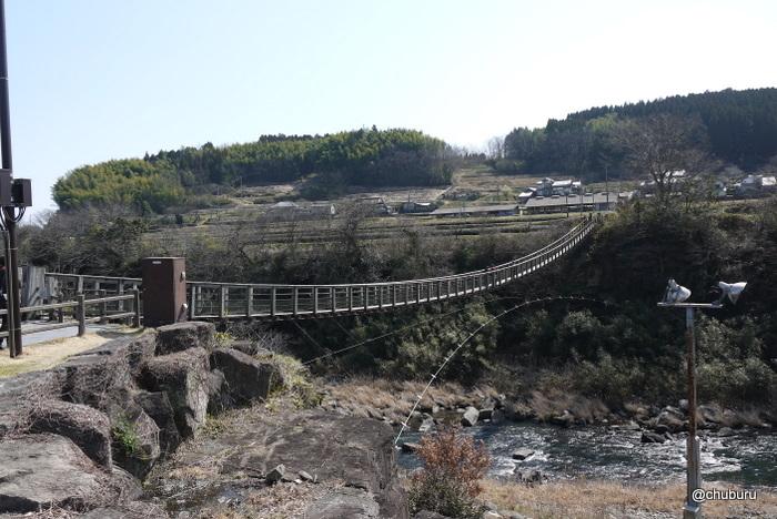原尻の滝へ