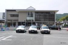 新しくなった長府駅