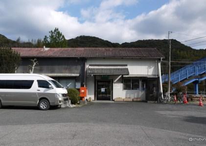 静かだったJR美祢線厚保駅