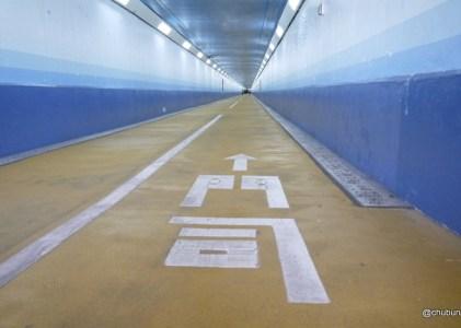 門司港レトロを歩く その1関門トンネル人道~めかり観潮遊歩道