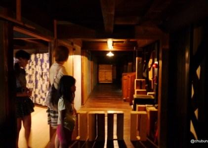 雨の熊本の旅その21八千代座その2バックステージ