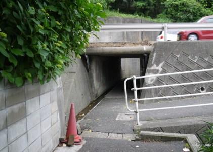 路地を歩く~一の宮住吉2丁目から楠乃2丁目あたり その3トンネルを越えるとそこは山だった