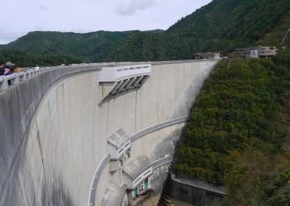 2019年10月広島の旅その1温水ダムでダムカードをゲット。