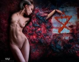 Photocreation: Gonzalo Villar - Model: Oksana Chucha - Photo of Model: Arkady Kozlovsky