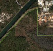 9 Acre Commercial Parcel Aerial