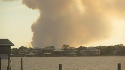 State Park Fire in Orange Beach and Gulf Shores4