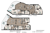 Abaco Gulf Shores Typical A & B Unit Floorplan