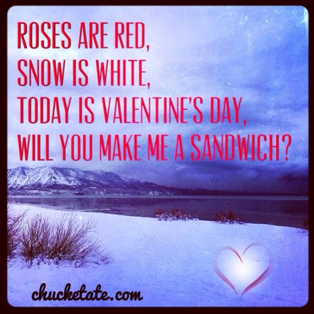 A Valentine's Day Poem